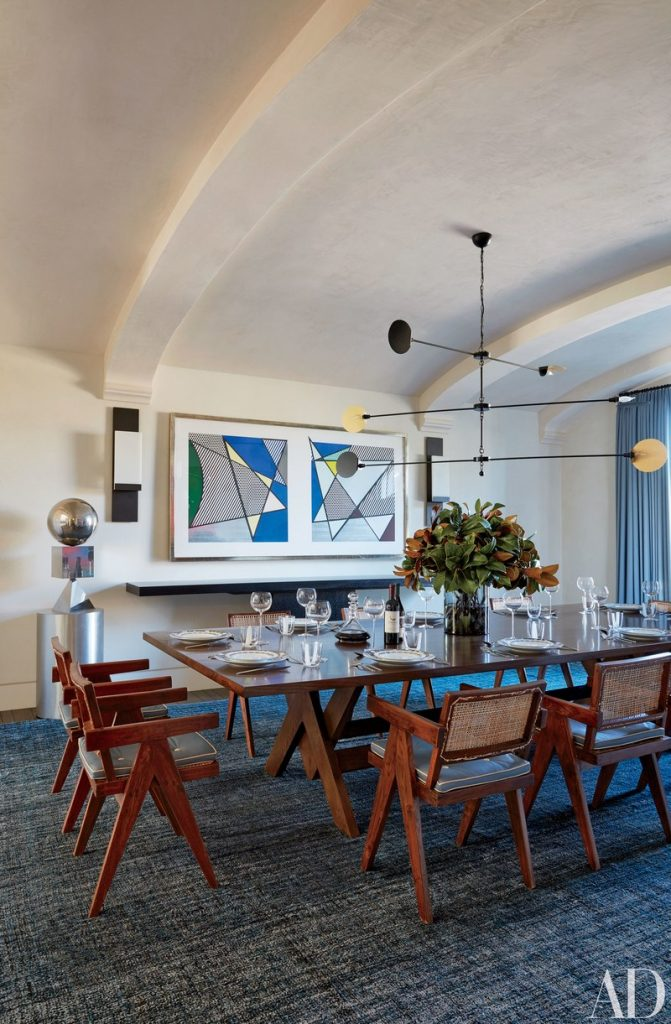 5 Celebrity Dining Room Designs To Follow Now - Naomi Watts Liev Schreiber