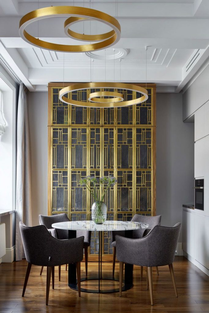 Art Deco Dining Rooms Worthy of The Great Gatsby
