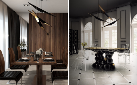 Several Dining Room Designs One Dining Room Lighting Fixture