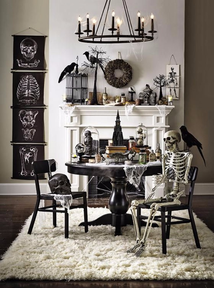 5 Halloween Decor Hacks For The Haunting Dinner Party 4