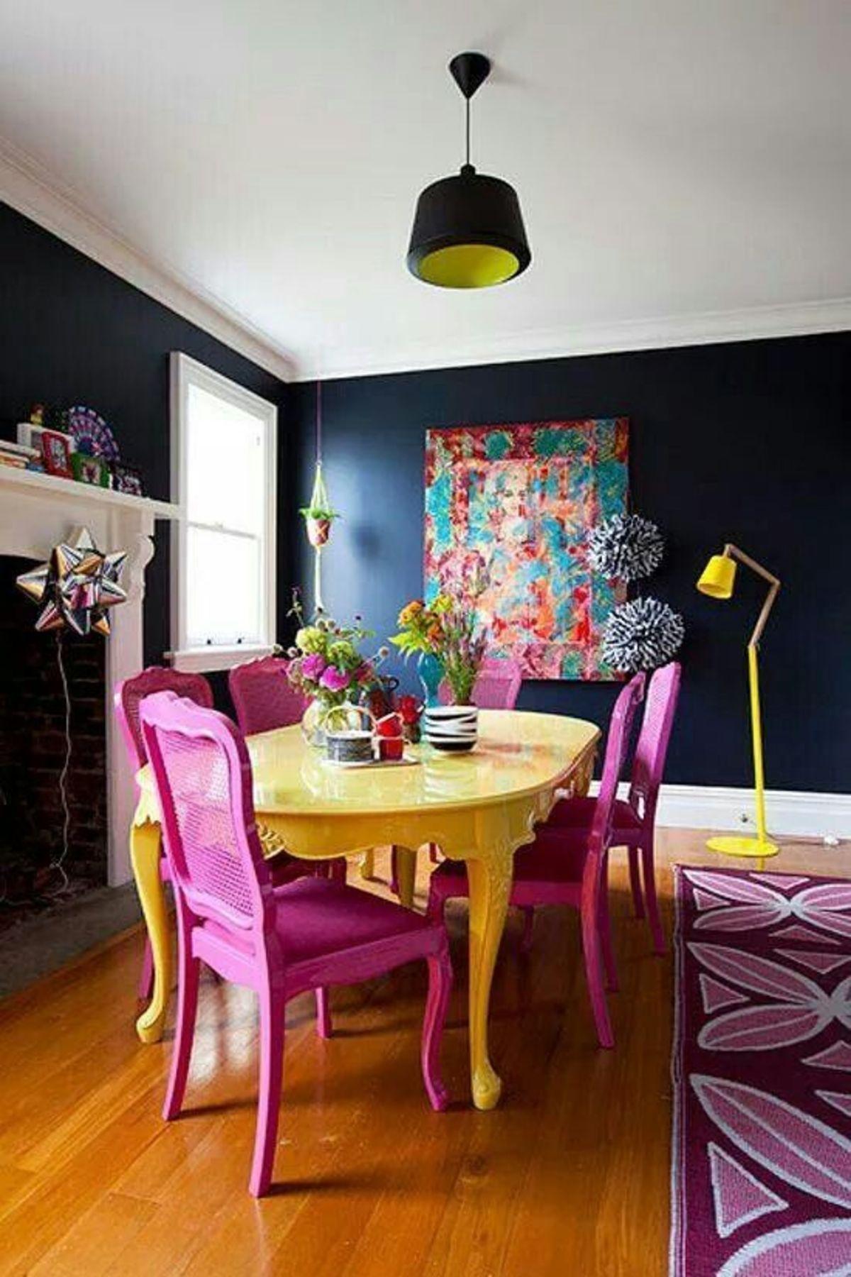 Pop Art Style in Interior Decor Dining Room Edition 2