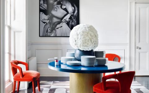 Pop Art Style in Interior Decor_ Dining Room Edition