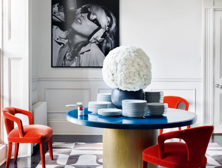 Pop Art Style in Interior Decor_ Dining Room Edition