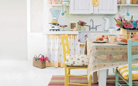 Shabby Chic Dining Room Decor Ideas For the Lovers Of Romance