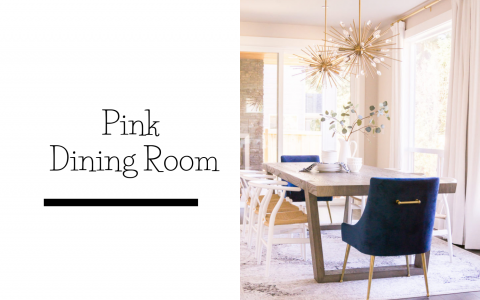 Soft Pink Dining Room For a Cosy Fall Time (3)