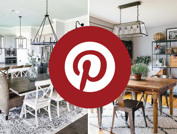 What's Hot On Pinterest: Farmhouse Dining Room