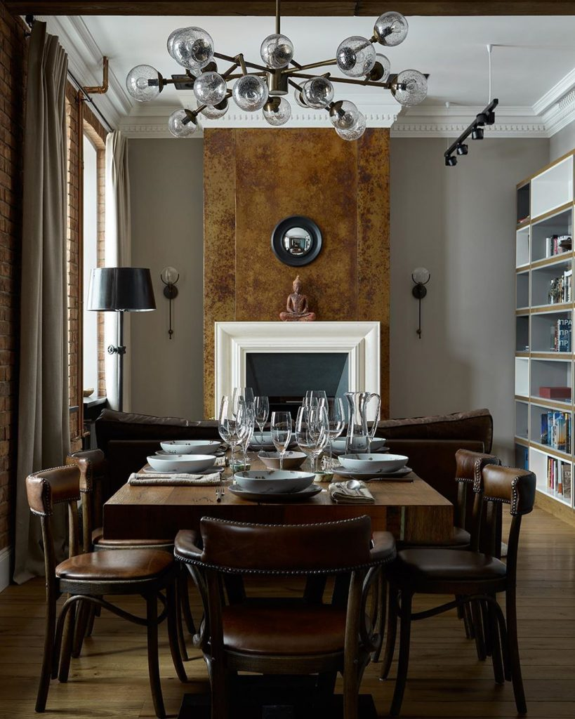 Classy Dining Rooms by Aiya Design