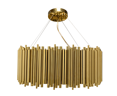 Find Out The Perfect Golden Lighting Fixtures For Your Dining Room Decor! 14