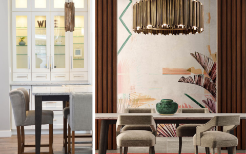 Find Out The Perfect Golden Lighting Fixtures For Your Dining Room Decor!