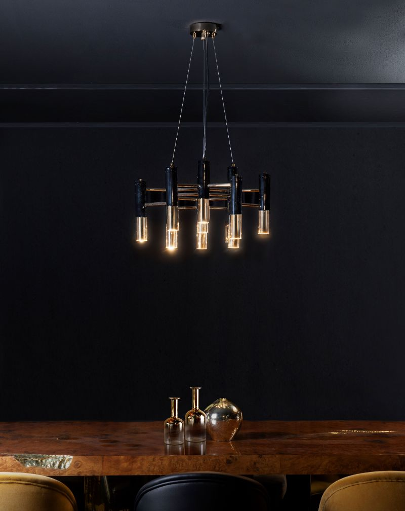 Find Out The Perfect Golden Lighting Fixtures For Your Dining Room Decor! 123