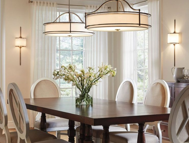 Bright and cozy dining room with the help of 3 lighting tips
