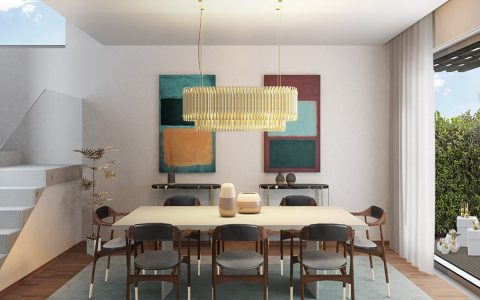 5 Tips To Create A Dining Room Design With A Summer Color Palette