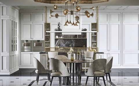 BAUHAUS Presents Top Designer Lighting Fixtures for Modern Dining Room