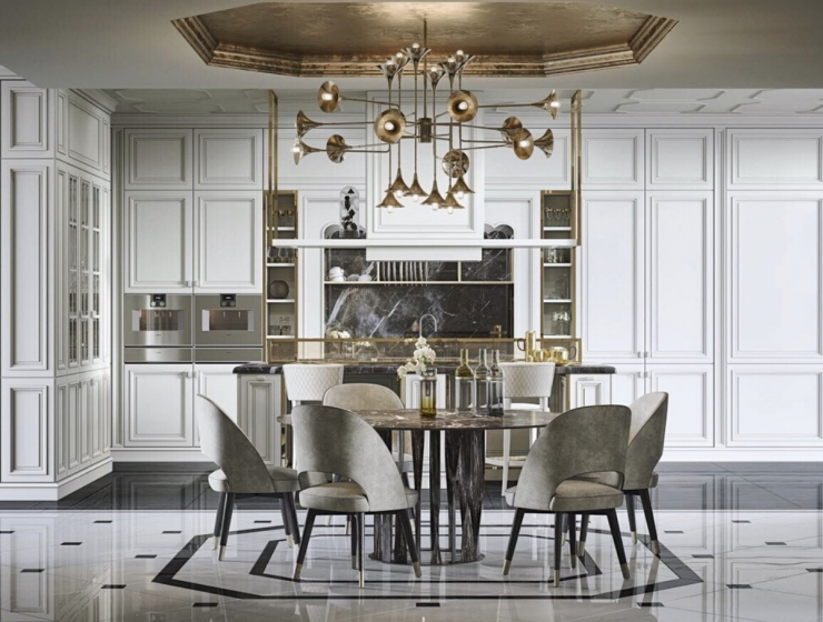 BAUHAUS Presents Top Designer Lighting Fixtures for Modern Dining Room