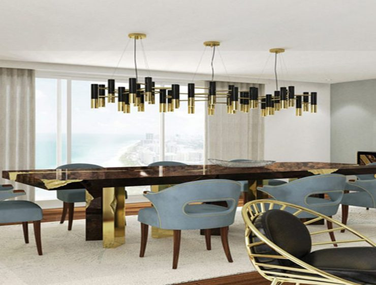 Mid-Blowing Suspension Lamps Ideas For Your Summer Dining Room Project