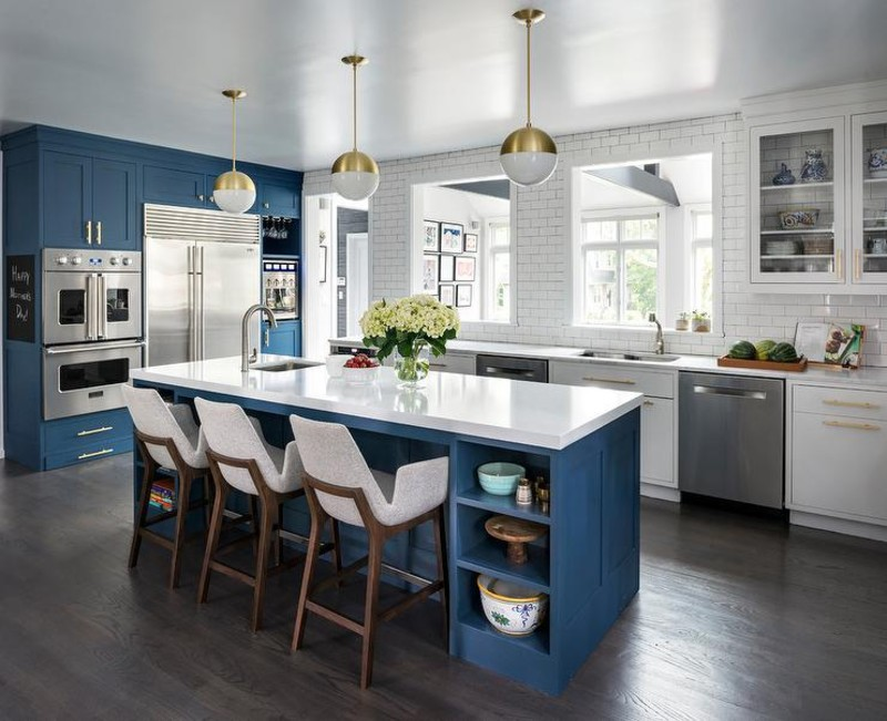 How To Use Kitchen Islands And Still Have That Mid-Century Vibe