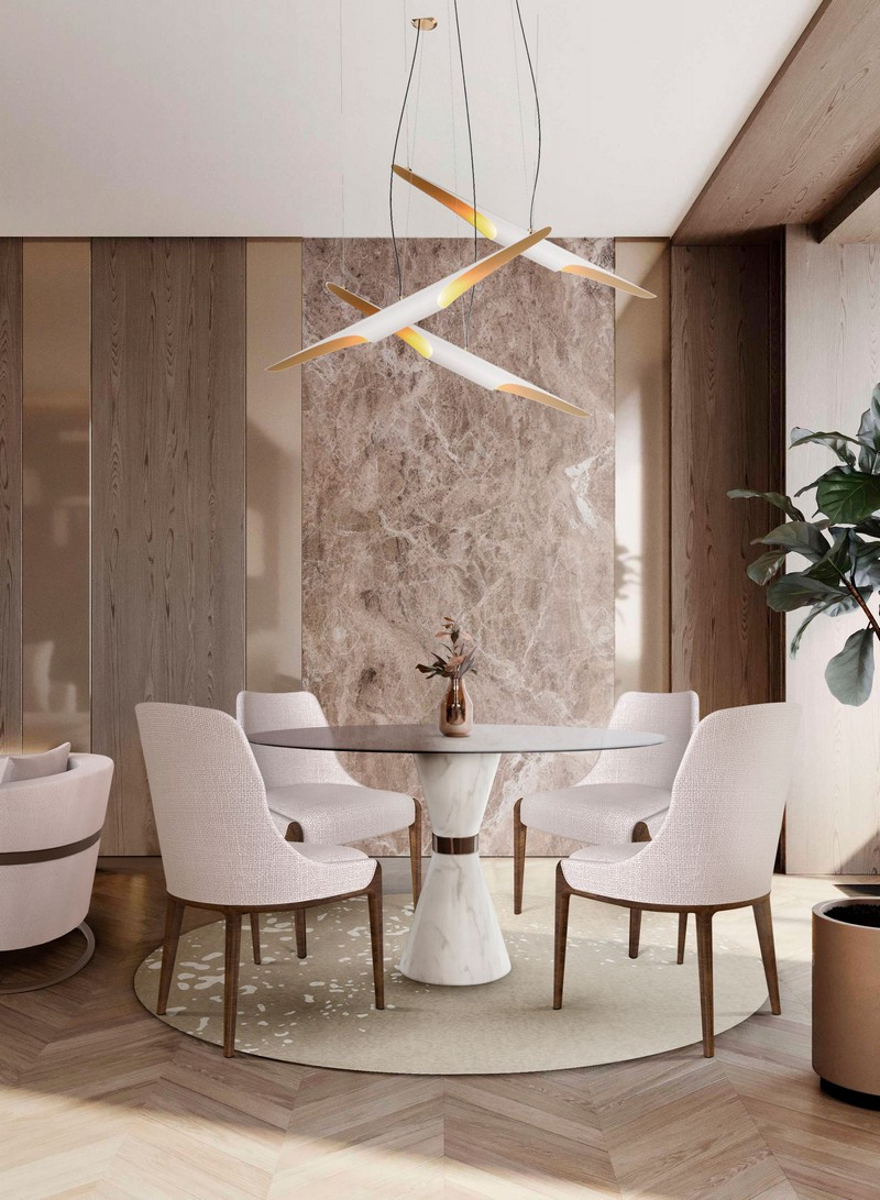 5 Interior Design Tips To Get A Well-Lit Dining Room Design