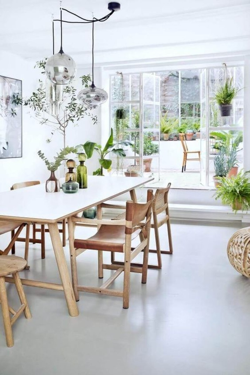 How To Create A Biophilic Design That Works For Your Dining Room
