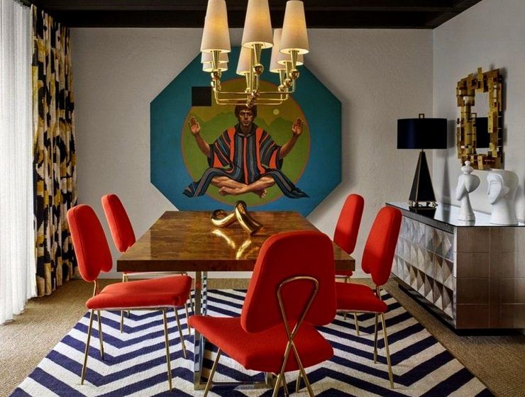 Steal The Look Of Jonathan Adler's Amazing Dining Room Sets!