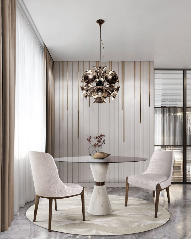 5 Tips To Make Your White Dining Room Design Pop Up!