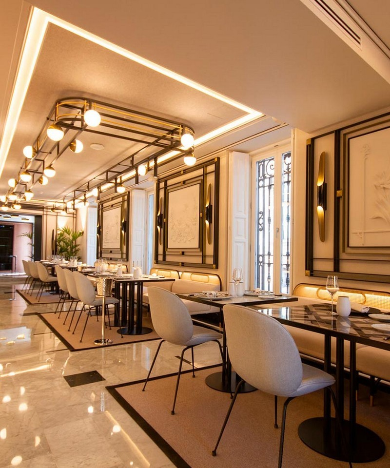 Janfri Ranchal Studio Has Created The Most Outstanding Dining Area For Palacio Vallier