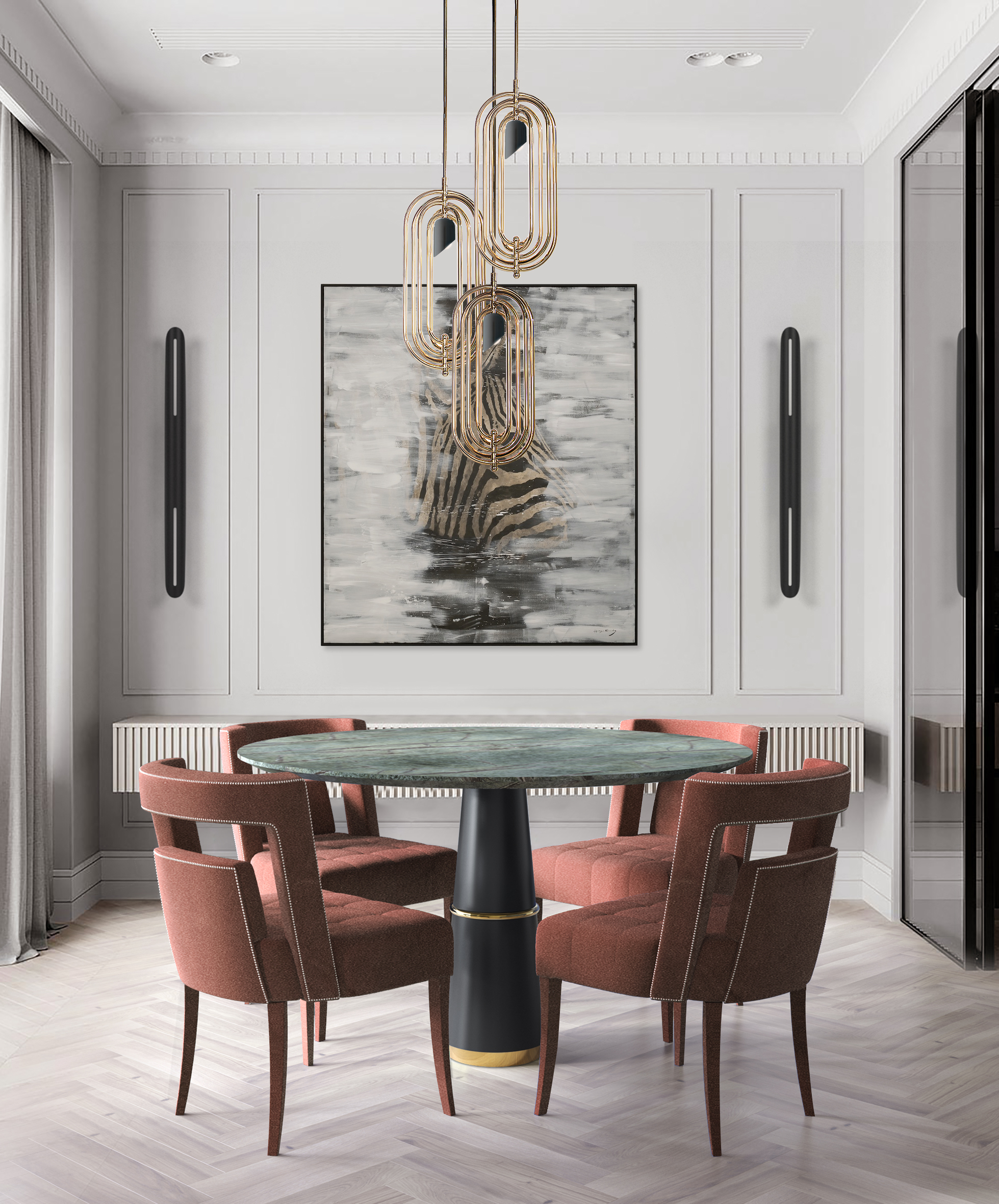 5 Mid Century Dining Room Lighting Pieces That Made Our Family Dinners Shine in September!