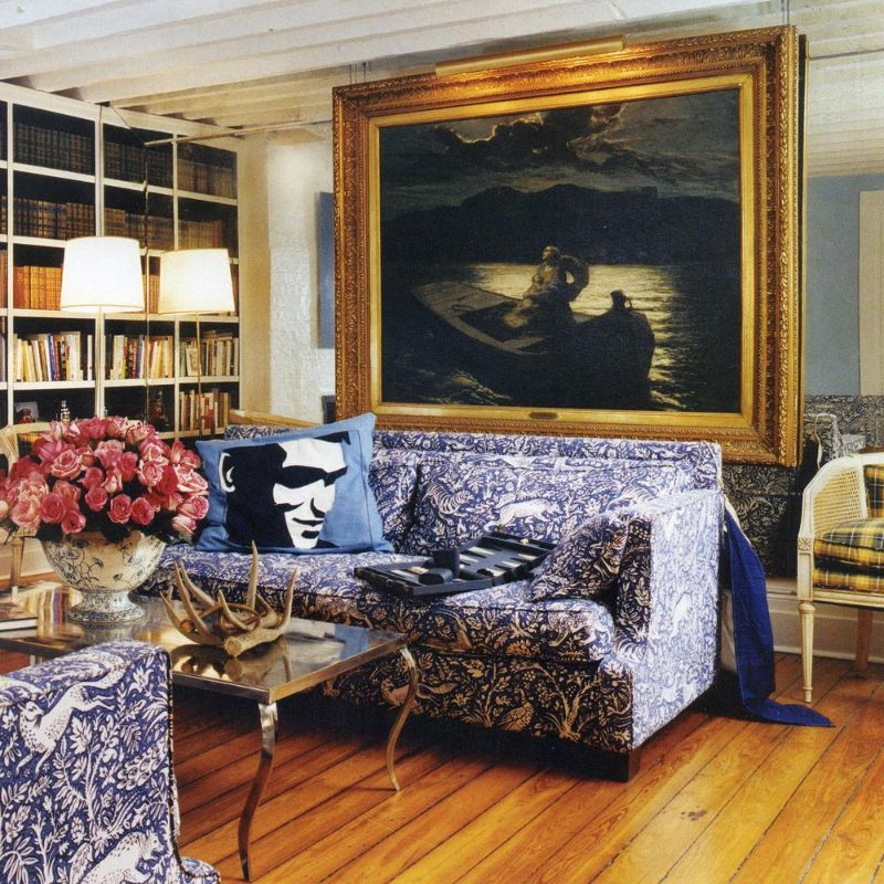 Cafiero Select Eclectic Living Room Ideas 1